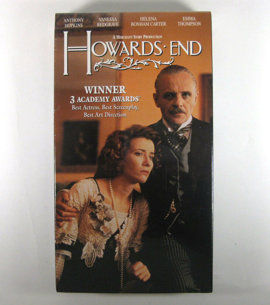 Howards End VHS 1993 Anthony Hopkins Vanessa Redgrave ...