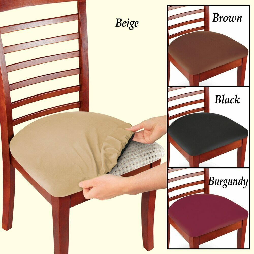 Stretchable Seat Covers Protector Dining Chair Replacement