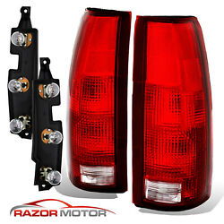 Kyпить 88-99 Tail Lights Pair For Chevy/GMC Silverado Tahoe Sierra + Connector Circuit на еВаy.соm