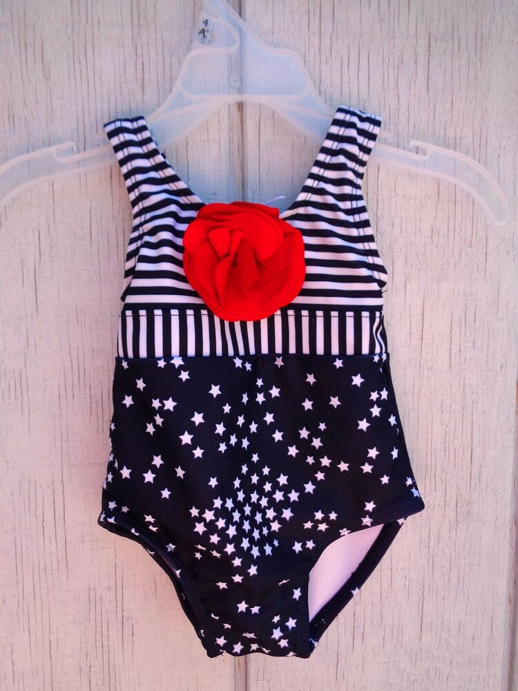 bdef2ffef1e1d Details about Swim Bath Swimming Suit SZ 6-12 M Baby Girls Parrot Swimwear  Target 4th of July