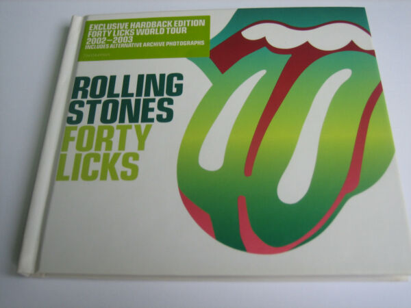 ROLLING STONES FORTY LICKS 2 CD FUORI CATALOGO SEALED MINT