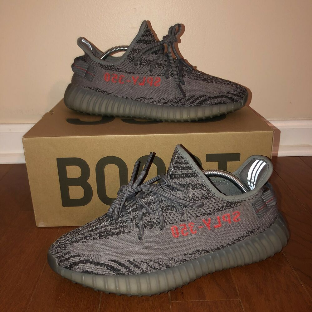 16ffe4ad5a1f4 Details about Adidas Yeezy Boost 350 V2 Shoes - Size 9.5 Men s Beluga 2.0  EUC