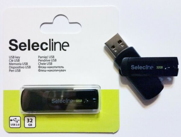 Selecline Stick Pendrive Flash Memory Chiavetta USB 32gb Memoria