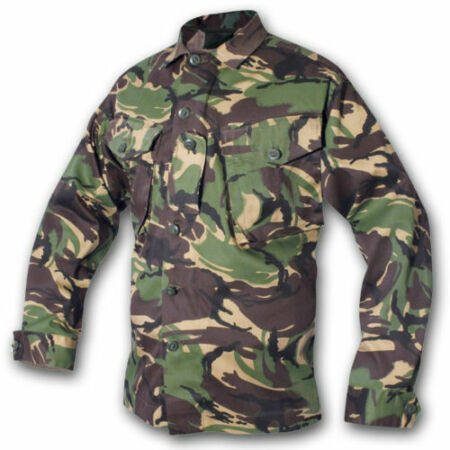 img-British Army Soldier 95 Issue Jacket Camo Shirt Genuine DPM Military Camouflage