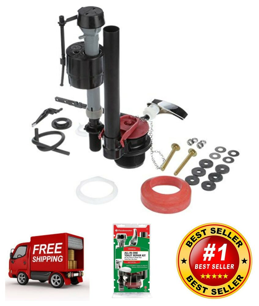 Fluidmaster Universal Complete Toilet Tank Repair Kit For ...