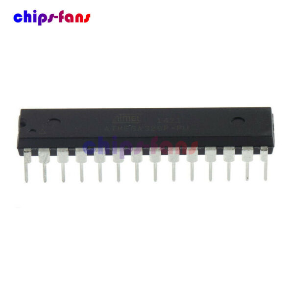 ATMEGA328P-PU Microcontrolle​r IC Chip With Arduino UNO R3 Bootloader