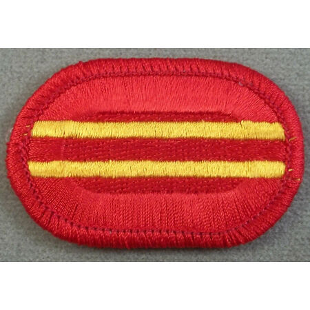 img-US Army 319th Airborne Field Artillery Regiment 2nd Battalion Oval Patch