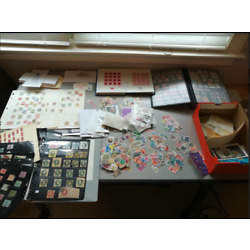 Kyпить 1000000s STAMPS COLLECTION-LOT of 100+ ALBUMS-GLASSINES-MINT-SET-Used-WORLDWIDE на еВаy.соm