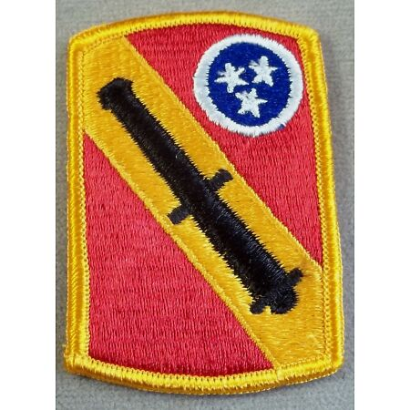 img-US Army 196th Field Artillery Brigade Full Color Merrowed Edge Patch