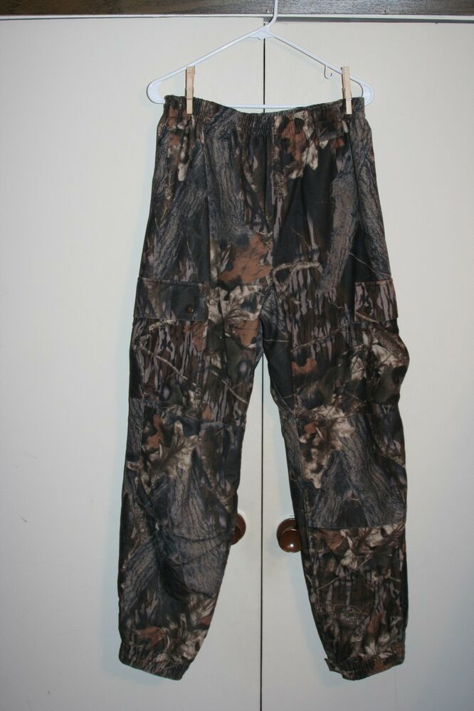 bda0ebd00a2bd Scent Blocker Plus Scentek Woodland Camo Hunting Pants Men Medium Multi  Brown | eBay