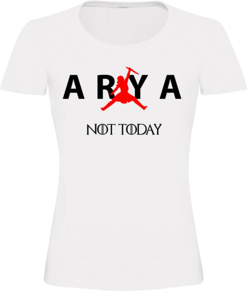 T-shirt Femme Air Arya, Humour, Fun, Parodie, Game of Thrones, Starks, XS-3XL