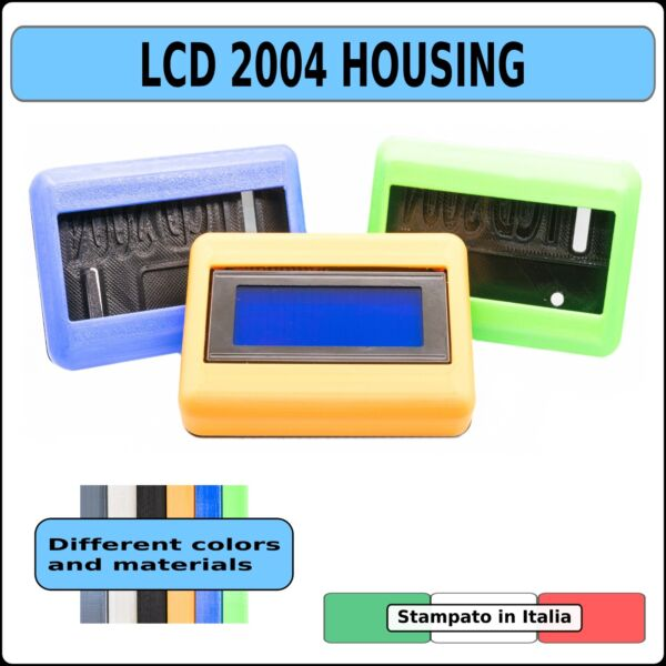 Housing case cover shell custodia Display LCD 2004 20x4 I2C - Arduino Raspberry