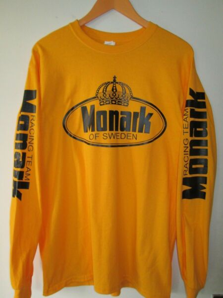 THEE SHORT MANCHES LONGUES TAILLE M / MOTO MONARK OF SWEDEN -RACING TEAM