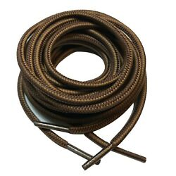 1 pair hiking round work boot shoe laces for 6 8 10 12 eyelets 38 40 54 60 63 72