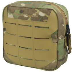 Pentagon Elpis 15x15 Utility Pouch Military MOLLE Airsoft Hunting MultiCam Camo