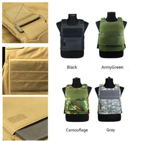 img-Outdoor Hunting Proof Tactical Vest Protect Enforcement Defence Security Guard