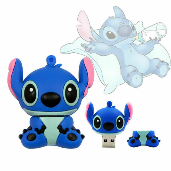 Cartoon Lilo & Stitch Memory Stick Usb Flash Drive Pendrive 32GB 16GB 8GB 4GB