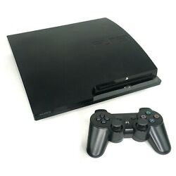 Kyпить Sony PlayStation 3 PS3 Slim Console with Wireless Controller & Cables на еВаy.соm