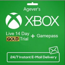 XBOX LIVE 14 Day GOLD + Game Pass (Ultimate) Trial Code INSTANT DISPATCH GLOBAL