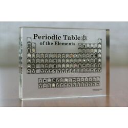 Heritage Periodic Table Display of Real Elements | Acrylic Element Collection