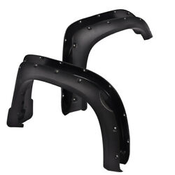 Kyпить 4PCS For 2014-2018 Toyota Tundra Pocket Rivet Fender Flares Set Textured Black на еВаy.соm