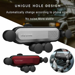 Gravity Car Mobile Phone Holder Air Vent Mount Stand For IPhone & Samsung US