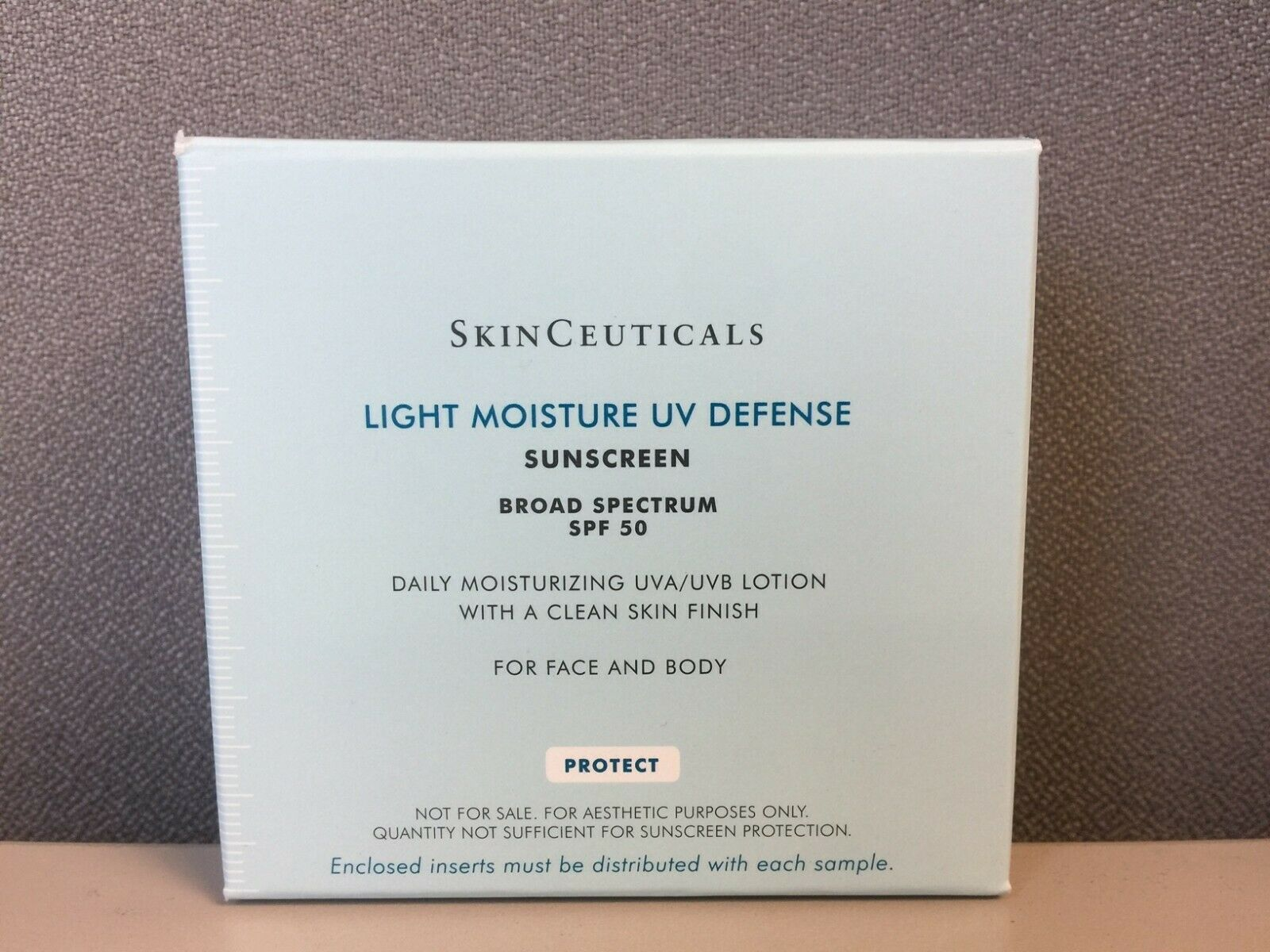 Skinceuticals Light Moisture Uv Defense Sunscreen Spf 50 Box Of 10 Samples