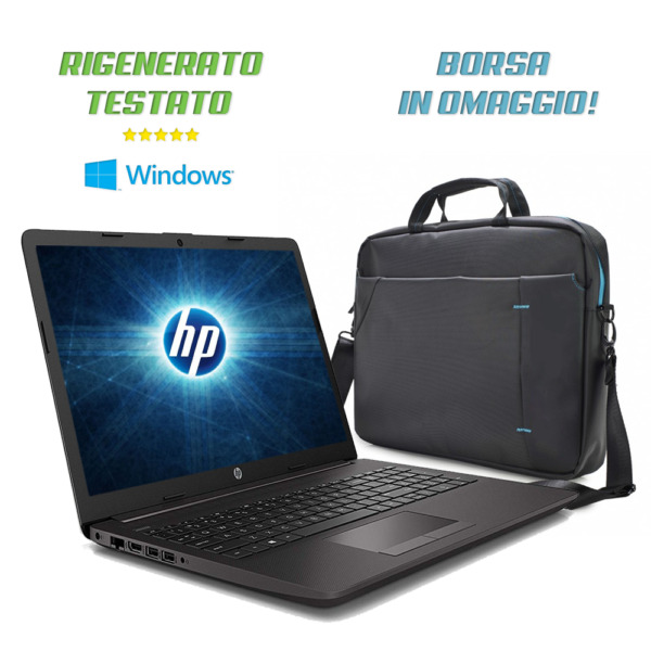 Notebook HP i5,Ram 8Gb,Ssd M.2 240Gb+Hdd 500Gb,Win10 Pro+Office Refurbished A+++