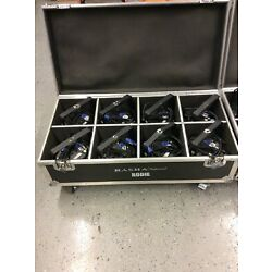 Kyпить Rasha Professional Rodie HEX Pack Of 8 With Road Case and DMX Cables. на еВаy.соm