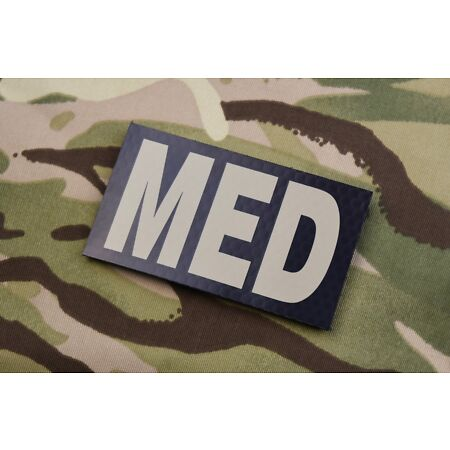 img-Infrared Combat MED Patch USMC Hospital Corpsman USAF US Army Line Doc Medic