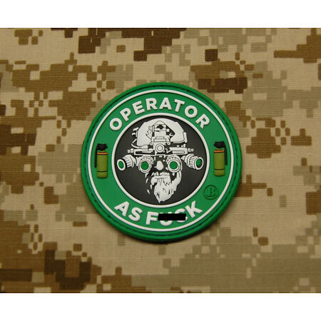 img-3D PVC Operator As F k OAF Nation MARSOC Raiders USMC Morale Patch VELCRO