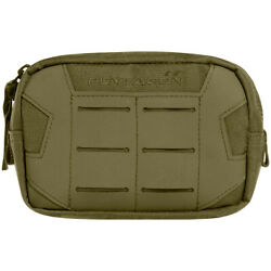 Pentagon Elpis 15x10 Utility Pouch Tactical Police Airsoft Hunting MOLLE Olive