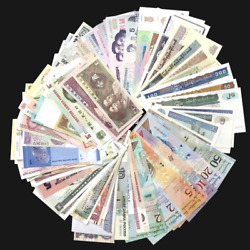 Kyпить Lot Set 100 PCS Different MIX World Banknotes From 50 Different Countries, UNC на еВаy.соm
