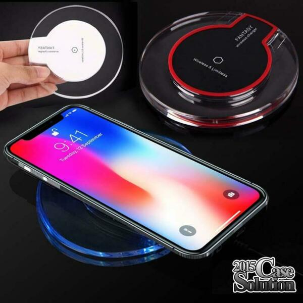 Wireless QI Charger Dock Charging Pad For iphone 8/X/XS/XR/11/11 Pro/ 11Pro Max