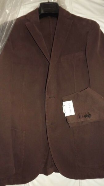 L. B.M.Mantova Tailoring Jacket New Collection Size 48 420,00 Tag sh2315