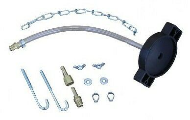 Motive Products Universal Round Reservoir Master Cylinder Adapter Kit (1101)