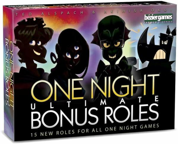 One Night Ultimate Bonus Roles - Party Game Expansion