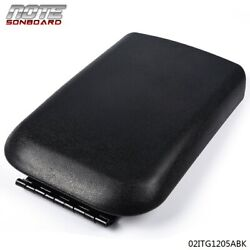 FIT FOR 05-09 FORD MUSTANG BLACK CENTER CONSOLE ARMREST LID COVER 5R3Z6306024AAC