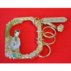 Kyпить Collectable Keyring Summer Palace Museum China ~ Beauty with Ruyi Sceptre ~ New на еВаy.соm