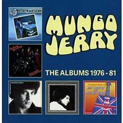 Mungo Jerry - THE ALBUMS 1976-81: 5CD CLAMSHELL BOXSET [CD]