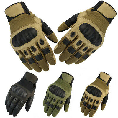 Touch Screen Tactical Motorcycle Motorbike Full Finger Gloves Moto Bikes Driving