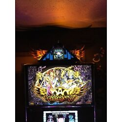 Kyпить Aerosmith Pinball Machine Limited Edition Wings/Elevator Topper,