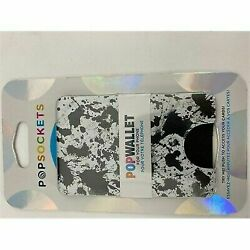 Kyпить PopSockets Cell Phone PopWallet - Black Splatter на еВаy.соm
