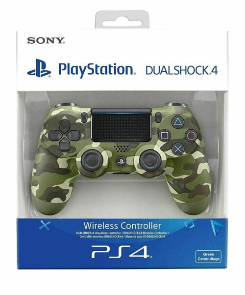 SONY CONTROLLER DUALSHOCK V2 PS4 PLAYSTATION 4 WIRELESS CAMO VERDE MILITARE