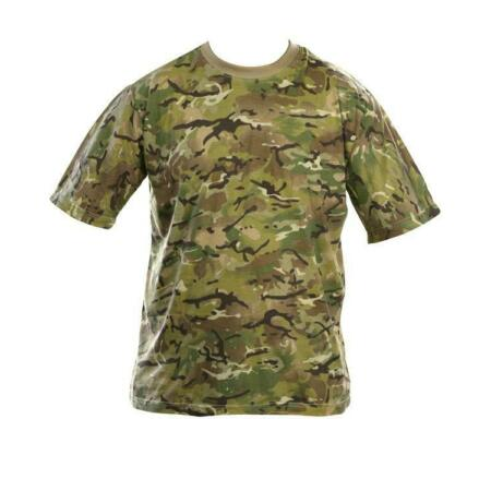 img-Mens Army Camouflage military T Shirt BTP works with MTP / Multicam