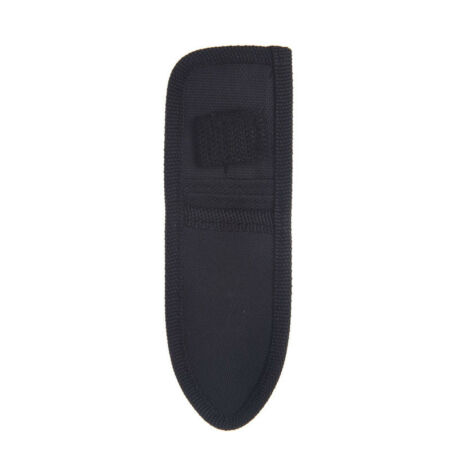 img-16cm x 5cm mini small black nylon sheath for folding pocket knife pouch case_dr