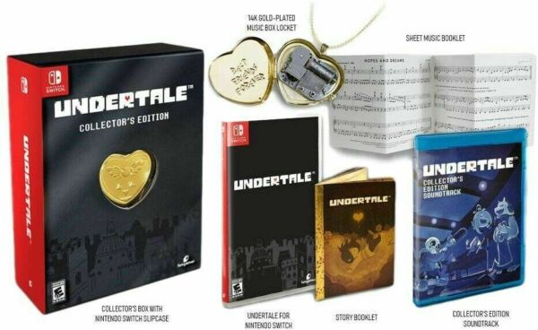 Jeu Nintendo Switch Undertale Collector's Edition