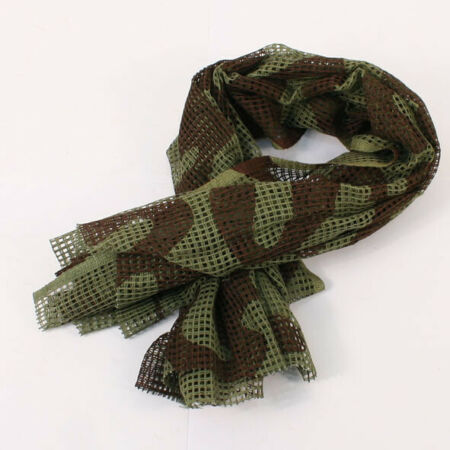 img-WW2 British Scrim Scarf Camo Reproduction BE300