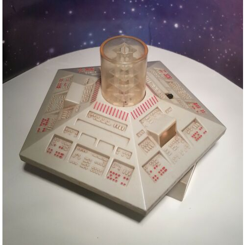 """Doctor Who TARDIS Classic Console Room Model Toy 1980s Lights Up 5"""" Scale Dapol"""