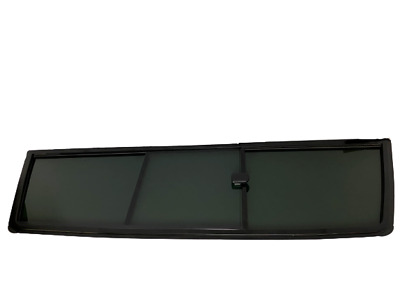 Fit 1989-1995 Toyota Pickup 2D Extended Cab Rear Slider Back Glass Slider/Dark